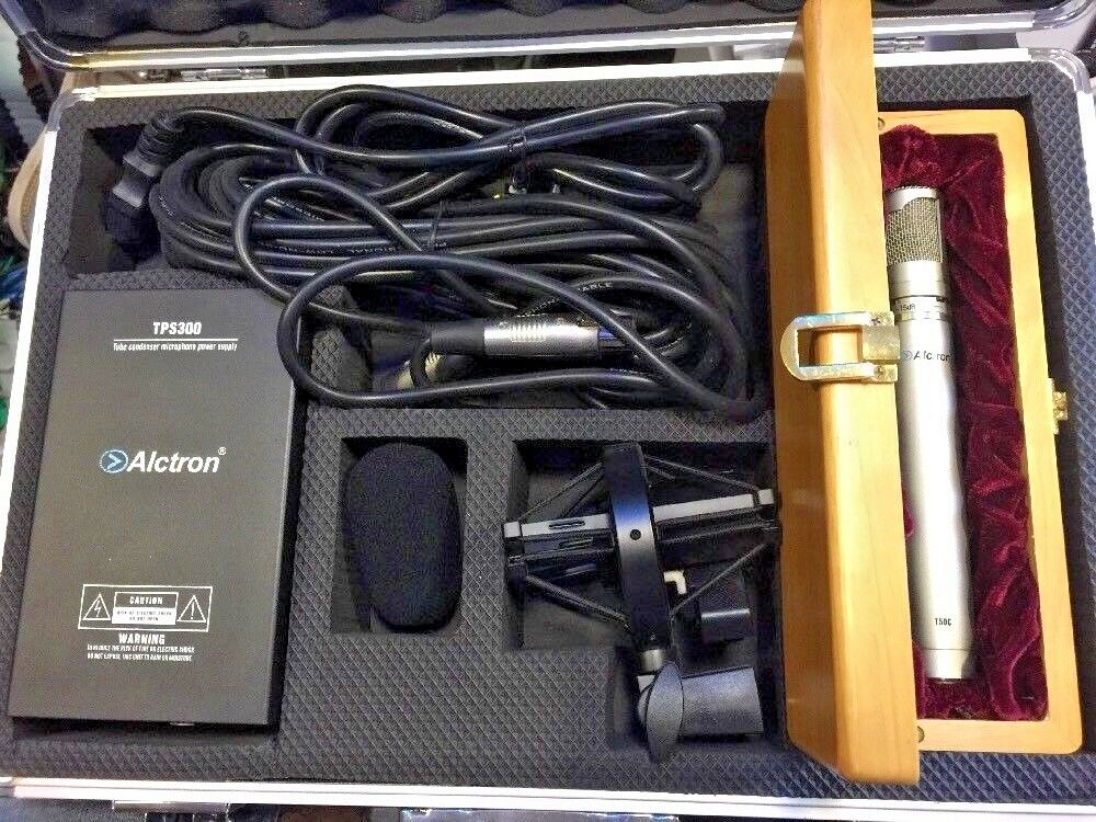Alctron T50C - Microphone studio  lampe haute qualité + 1 FILTRE ANTI POP OFFERT