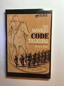 Book-Navajo-Code-Talkers-Sealed-1998-High-Grade-Paperback-by-Doris-A-Paul