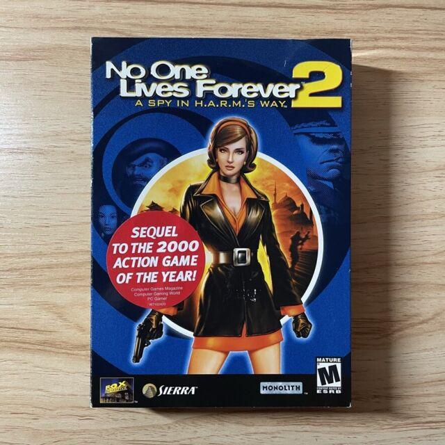 No One Lives Forever 2: A Spy in H.A.R.M.'s Way (PC, 2003) Small Box