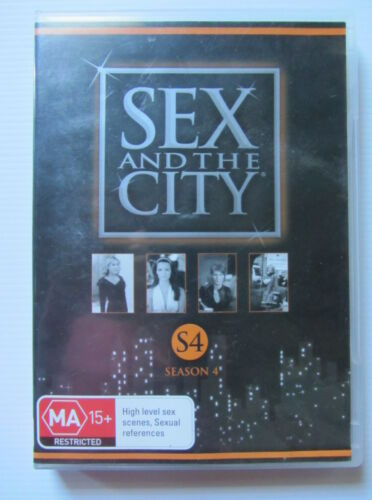 1 of 1 - SEX AND THE CITY - Complete Season 4 DVD - VGC - Sarah Jessica Parker