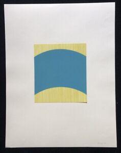 Achim Hoops, Ohne Titel, litografia, 1992, a mano firmata e datata
