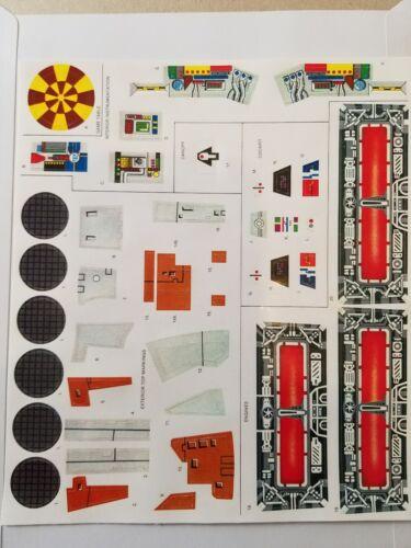 Vintage Star Wars Millennium Falcon Replacement Sticker Peel /& Stick No Cutting