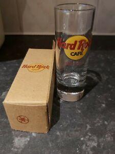 Vintage-collectable-Hard-Rock-Cafe-Shot-Glass-ORLANDO-Boxed