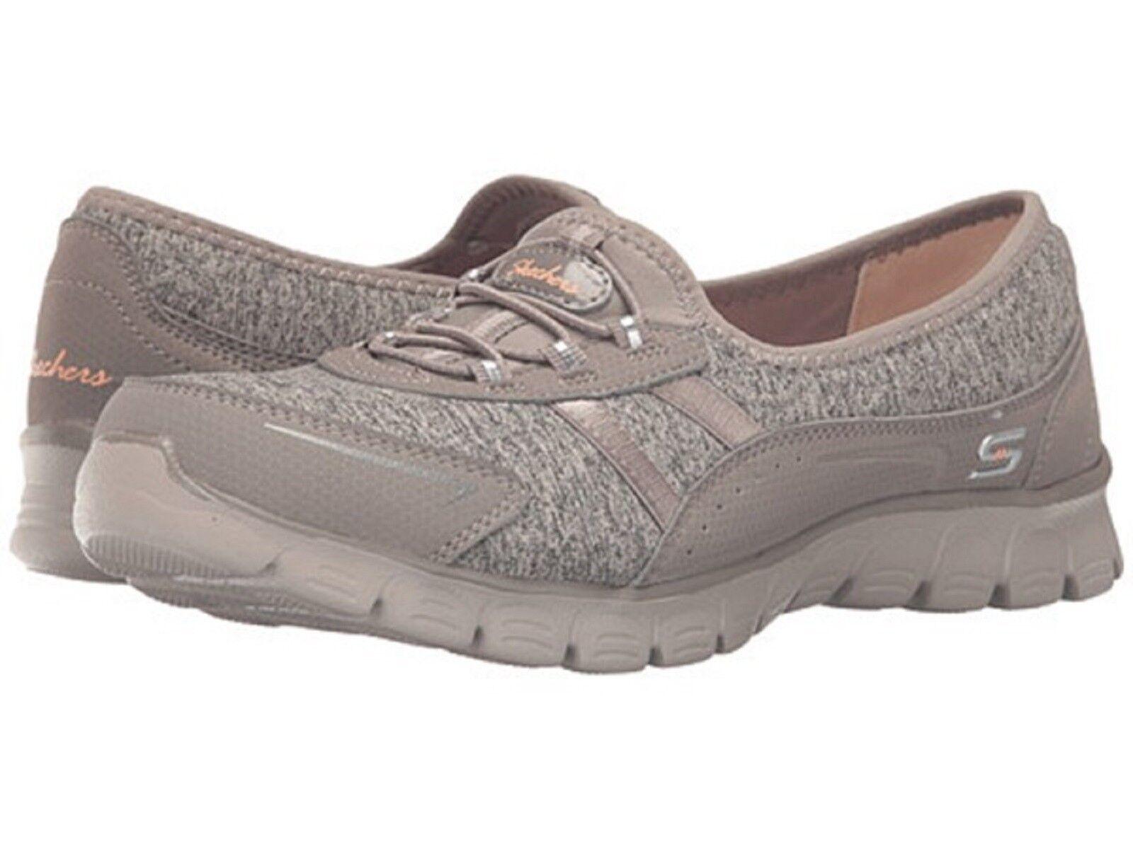 SKECHERS Ladies EZ FLEX 3.0- FEELING GOOD  Walking Sneakers-Taupe Sz. 9M NIB