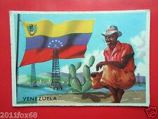 figurines cromos card figurine sidam gli stati del mondo 88 venezuela bandiere z