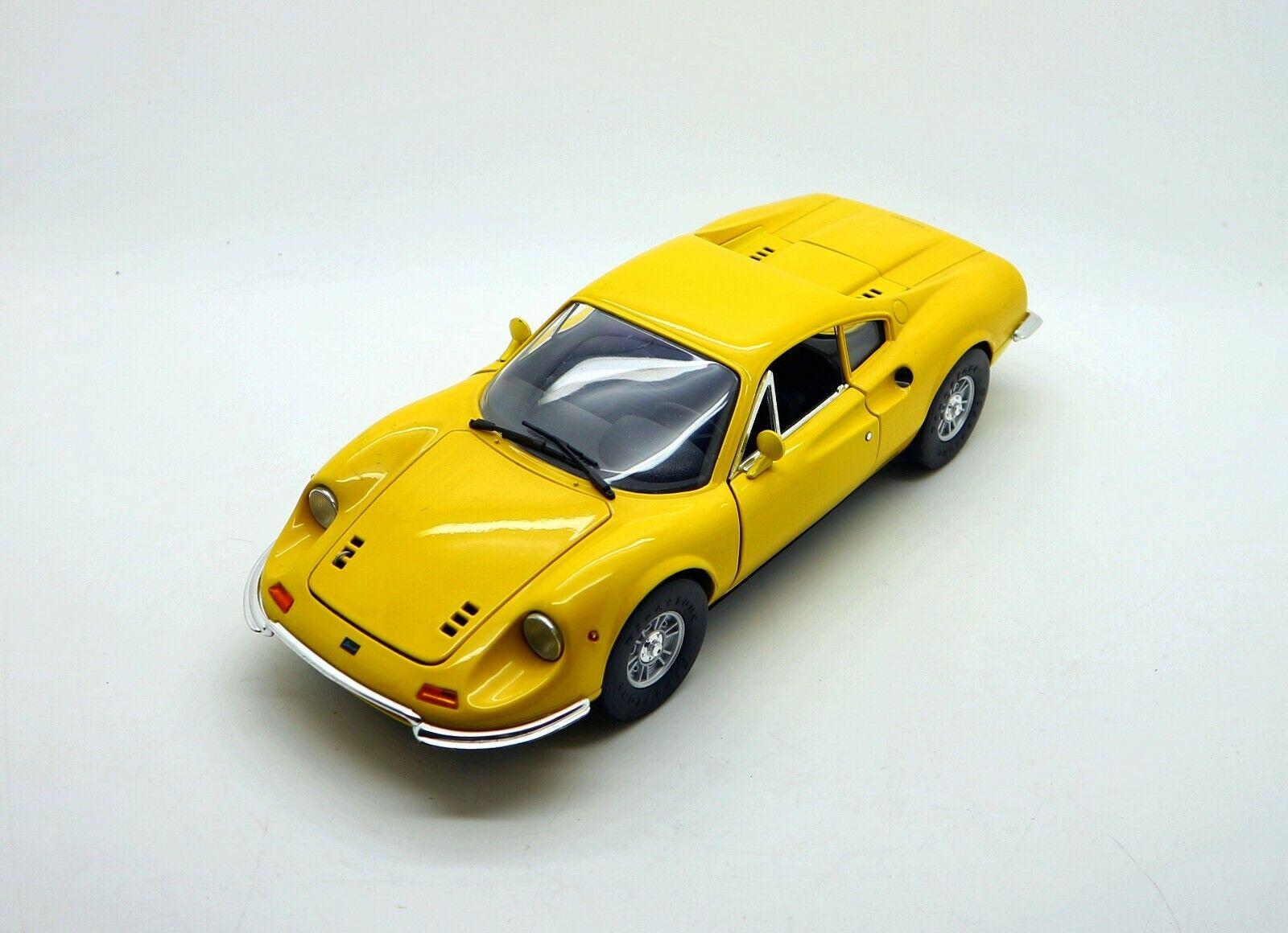 1 18 ANSON Ferrari Dino 246 GT Gelb
