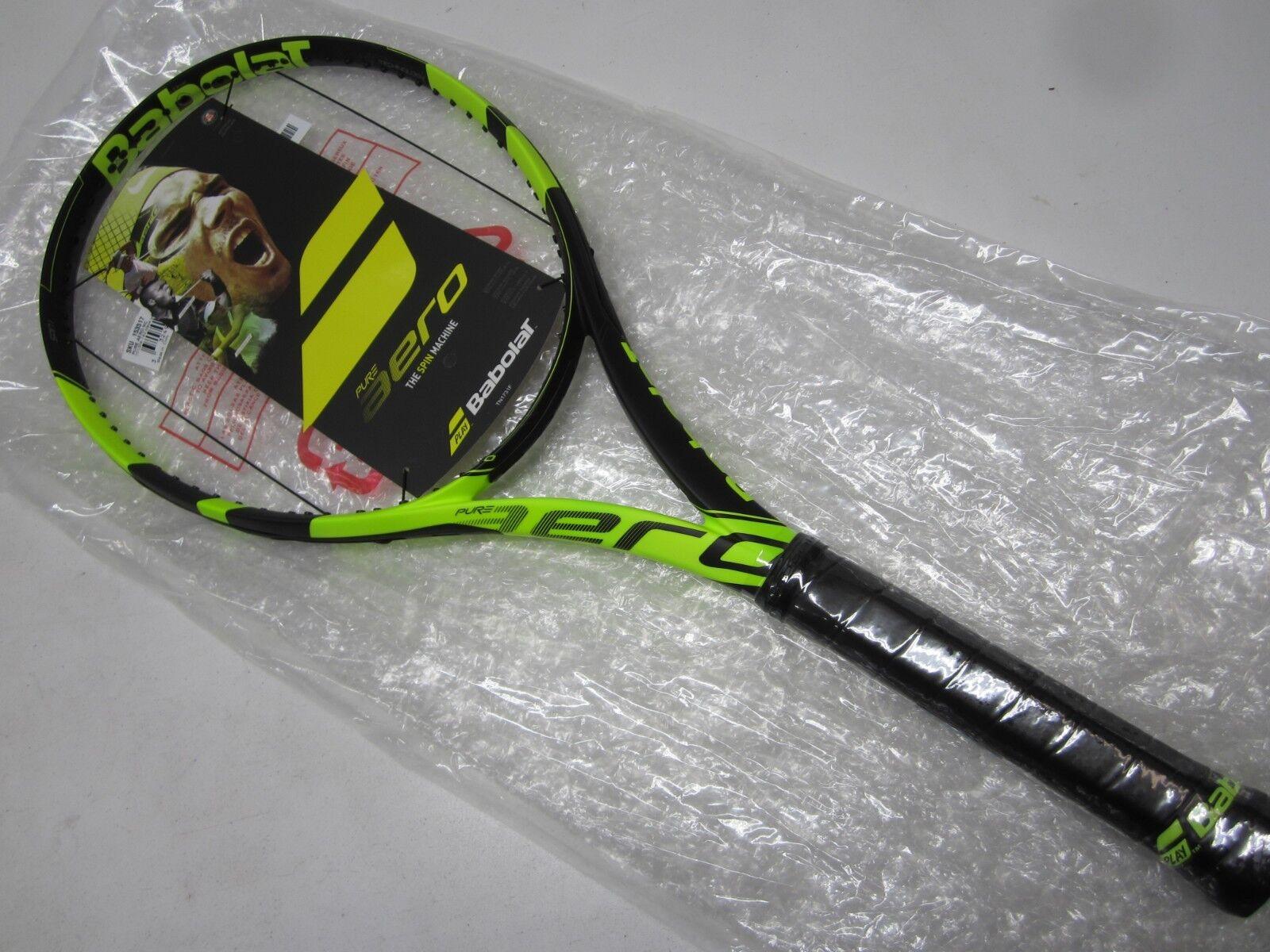 NOUVEAU  2018 BABOLAT PURE AERO Raquette de Tennis (4 3 8)
