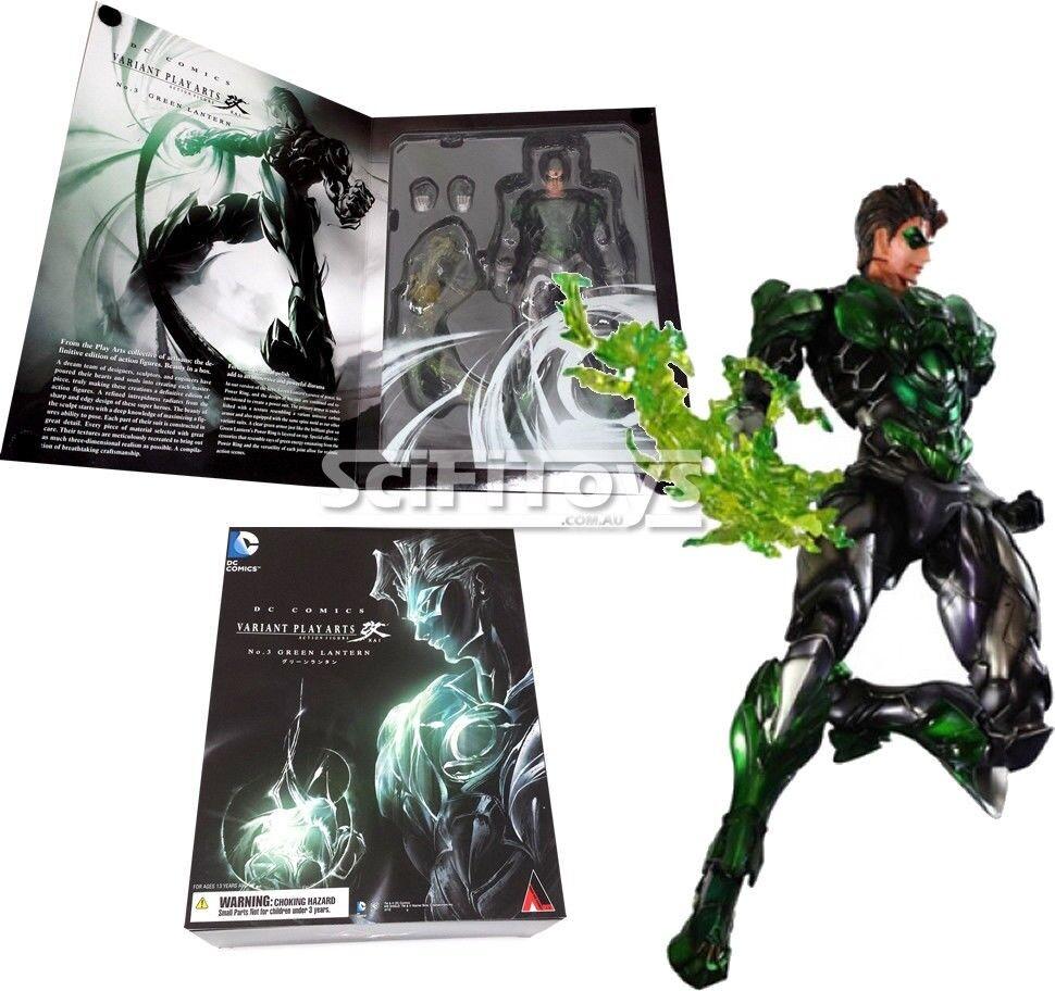 VARIANT DC COMICS JUSTICE LEAGUE GREEN LANTERN Play Arts KAI Figure Square Enix