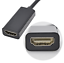 miniature 7 - Display-Port-to-HDMI-Male-Female-Adapter-Converter-Cable-DisplayPort-DP-to-HDMI