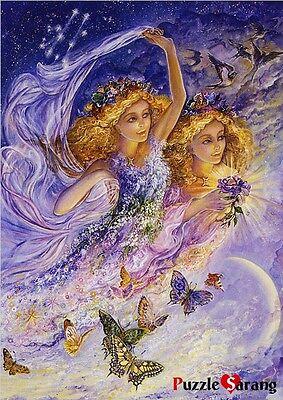 "Luminous Jigsaw Puzzles 500 Pieces ""Constellation - Gemini"" / Josephine Wall"