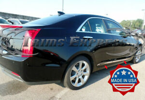 2013-2019-Cadillac-ATS-4Dr-Stainless-Steel-Lower-Body-Side-Molding-Trim-7-8-034