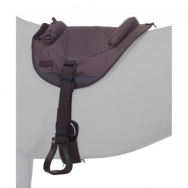 Tough-1 Brown Premium Bareback Pad Horse Tack Equine 31-910