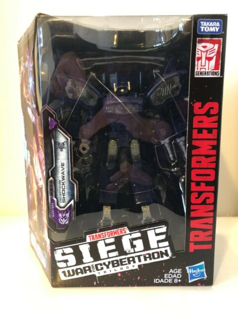 Transformers Siege War For Cybertron Leader Shockwave WFC-S14 New