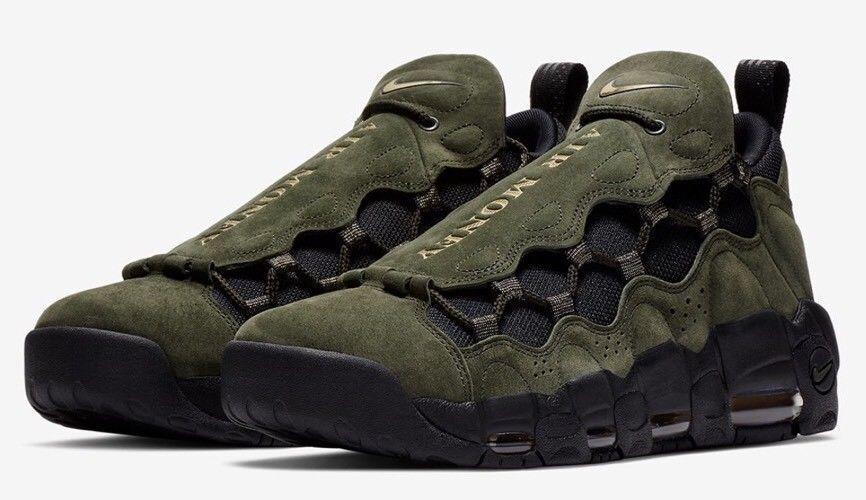 7b118368b Nike Air More Money Money Money QS Men s Shoes Sequoia Gold AJ7383 300  a8615a
