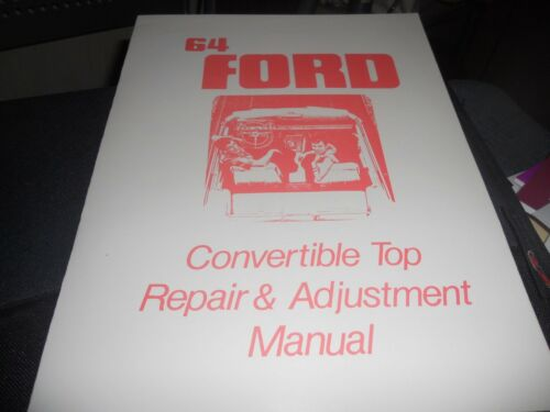 mediatime.sn 1964 FORD GALAXIE 500 XL CONVERTIBLE CONV MANUAL ...