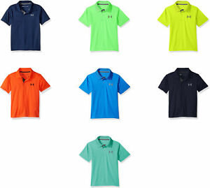 dcb665d81 Image is loading Under-Armour-Boys-039-UA-Match-Play-Polo-