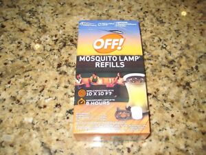 Image Is Loading Off Mosquito Lamp Refill 2 Repellent 2 Candles