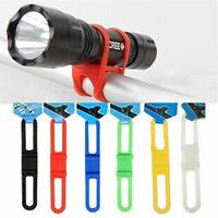 2 Pcs Bike Bicycle Phone Torch Light Pump iPod Water Bottle Holder Strap Bands