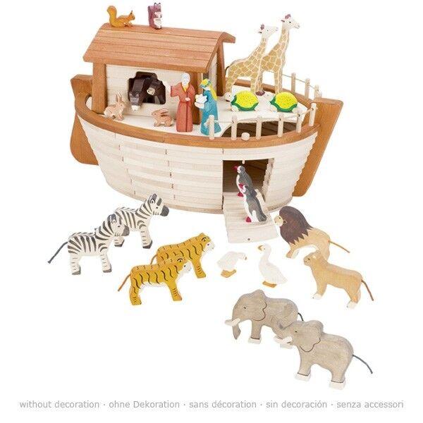 Holztiger by Gollnest & Kiesel 80600 Arche Noah aus Holz Neu und OVP