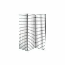Only Hangers Black Finished Grid Z Unit With Three 2 X 6 Panels