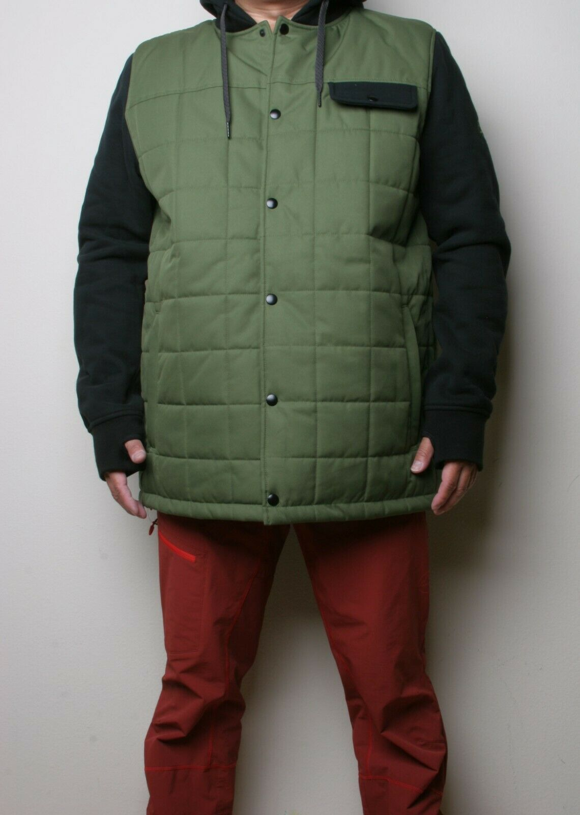 686 Bedwin Insulated Jacket (L) Surplus Green M0WLAY07-SPRG