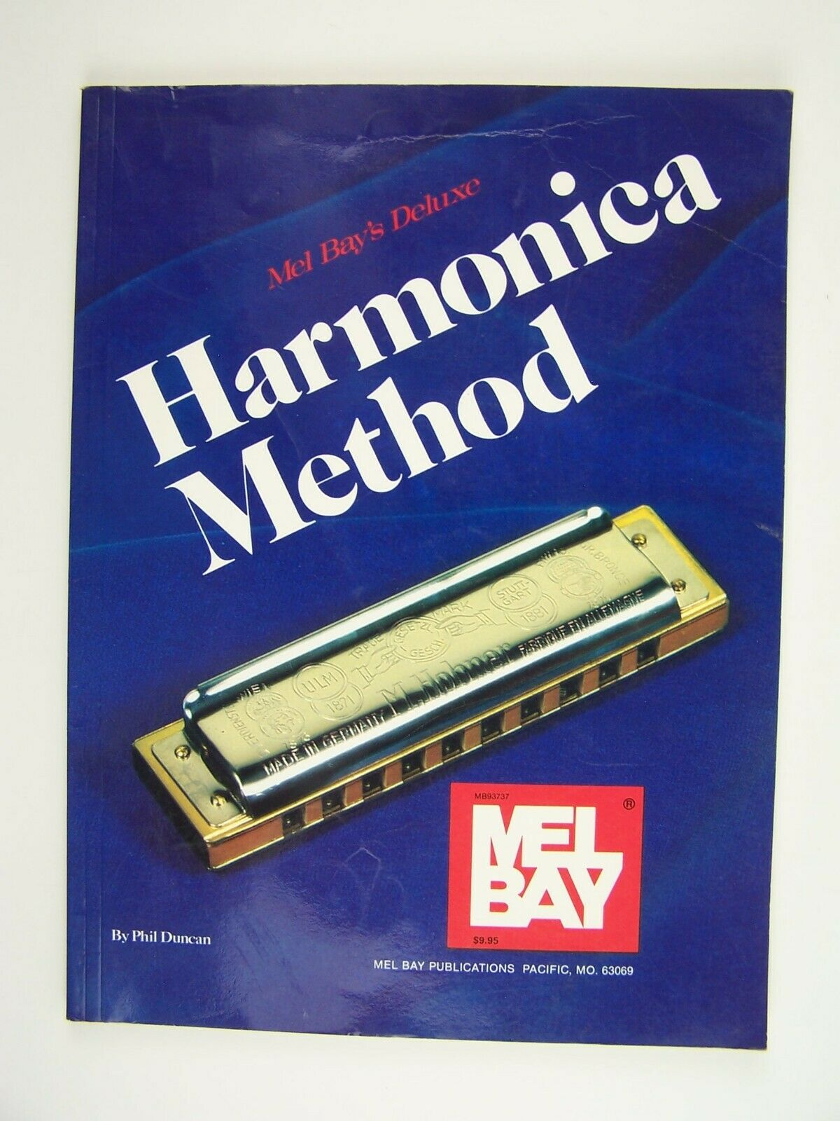 Mel Bay's Deluxe Harmonica Method Book by Phil Duncan