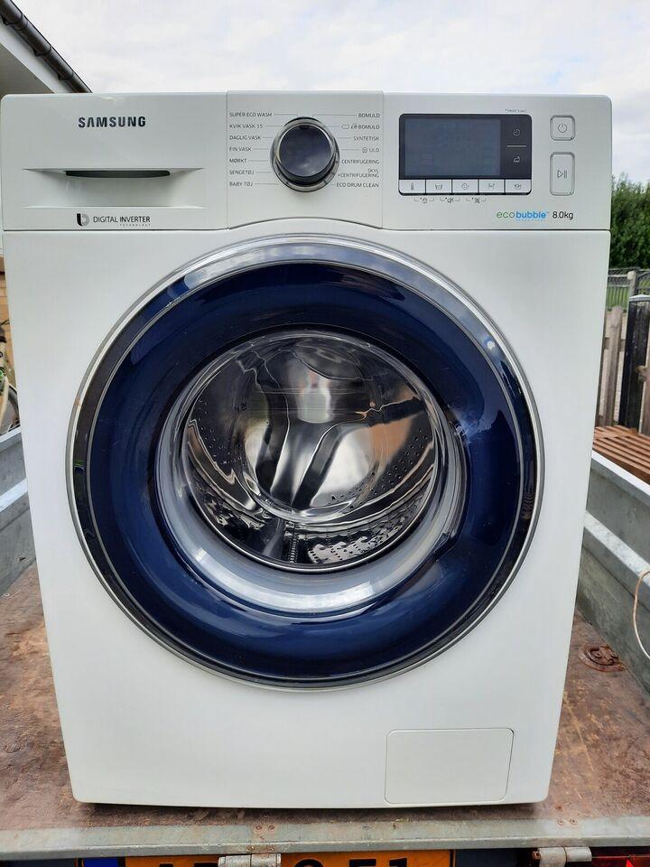 Samsung vaskemaskine, Ecco bubbel, frontbetjent