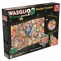 Wasgij 1000 Piece Jigsaw Puzzle Jumbo Double Trouble Christmas Number 11