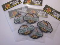 Bass Pro Shops White River Patch 1 Outdoor World 4x3 Inches Factory Sealed 18