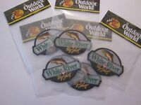 Bass Pro Shops White River Fly Patch 1 Outdoor World 4x3 Inches Factory Sealed