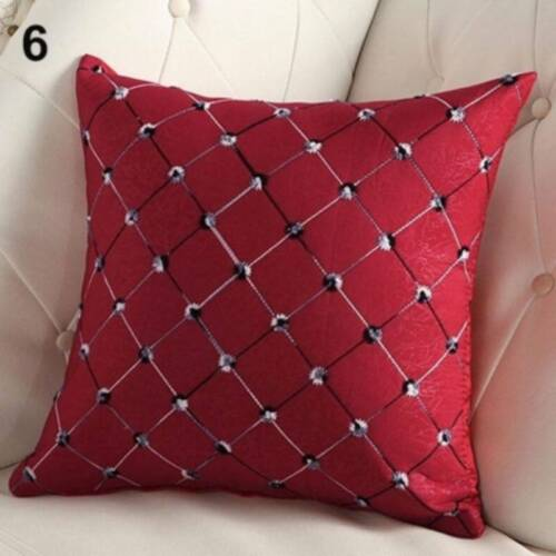 Modern Geometric Cushion Cover Scatter Pillow Case Home Sofa Square SH