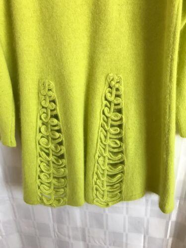 taglia donna Abito M Color Lime L maglione AwfqE
