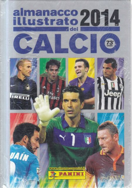 Sg1  - Almanacco Illustrato del Calcio Panini 2014 Nuovo Sigillato