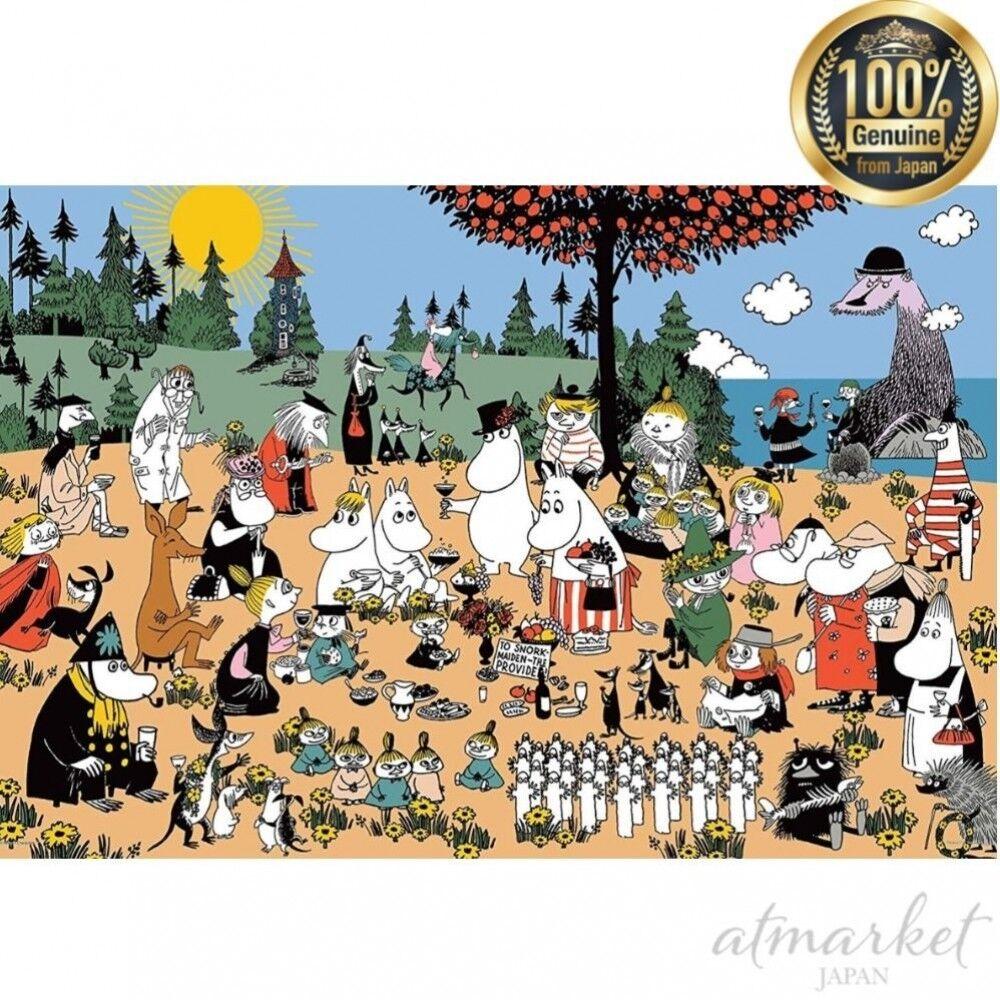 1000 Piece Jigsaw  Puzzle un Merveilleux Groupe de Moomin Vallée (50 X 75 cm)  marque célèbre