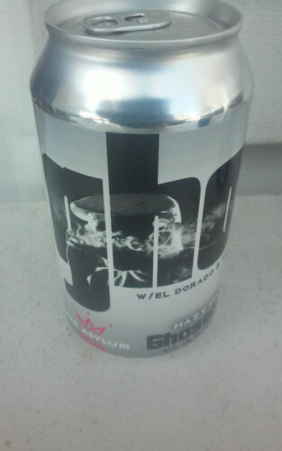 X 120Z ASYLUM GHOSTED ALMINUM CHEAP BEER CAN CANS  BOX 5