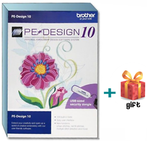 Brother PE Design 10 Embroidery Full Software Free Gifts FAST DELIVERY