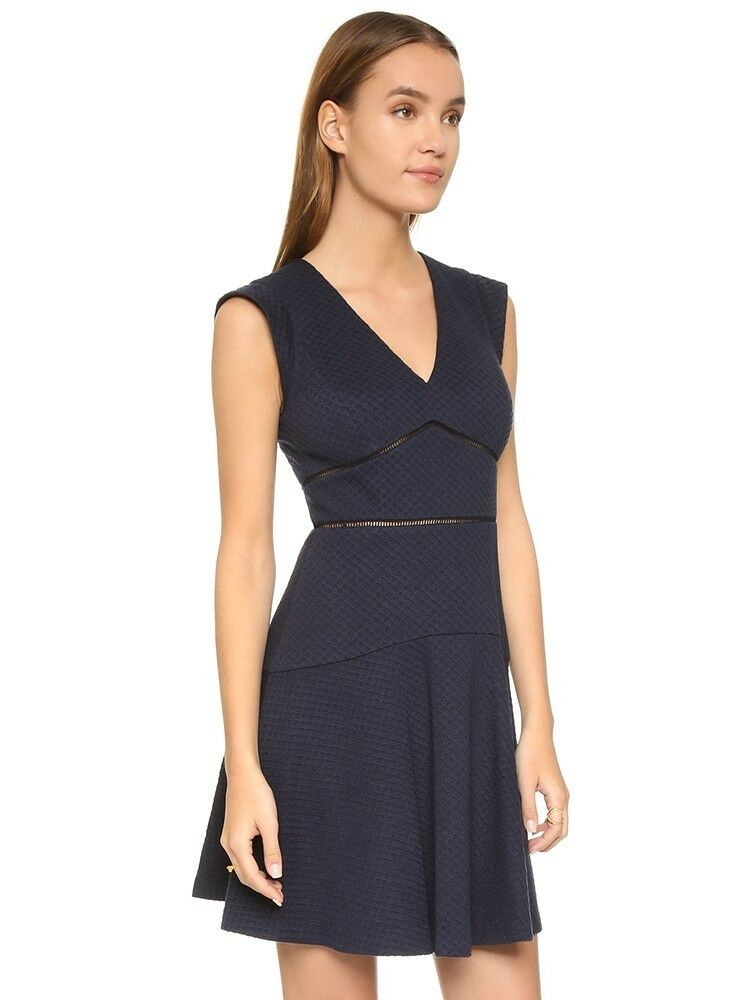 NEW Rebecca Taylor Taylor Dress in bluee- size 10