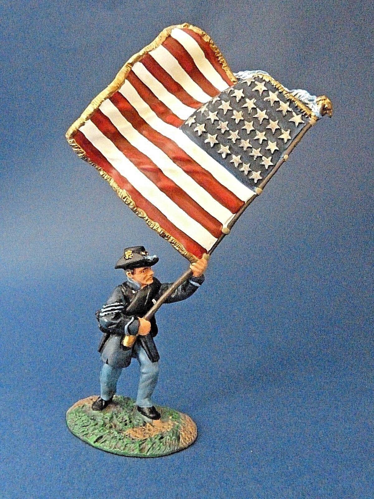Soldaten country ref. 17156 - acw - guerre de s é rezession - drapeau eisen - brigade
