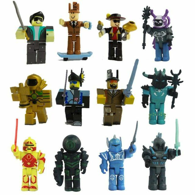 Roblox Zombie Attack Playset Figures Pvc Game Toy Kids Xmas Gift P