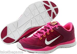 Wmns-Nike-Flex-Trainer-3-Raspberry-Red-580374-603-Size-Choice-BNIB