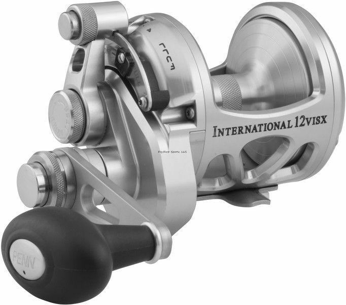 New Penn International Lever Drag Conventional 2-Speed Reel 12  sz INT12VISXS  presenting all the latest high street fashion