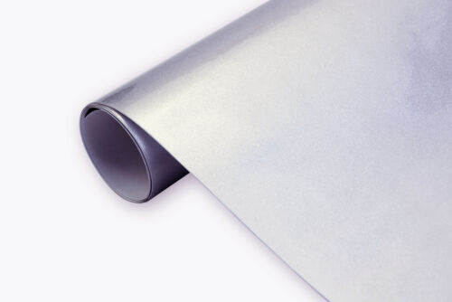 39 €//m² 3d Car Film High Gloss Metallic Silver 30 x152 cm Glossy Bubbles
