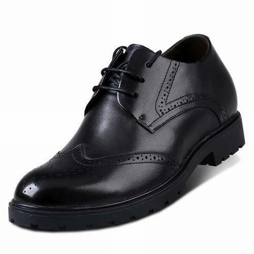 ca2265b11fdc Men s Wing Wing Wing Tip Dress Taller Brogue shoes Elevator Height  Increasing 2.75 inc N9 6b3543