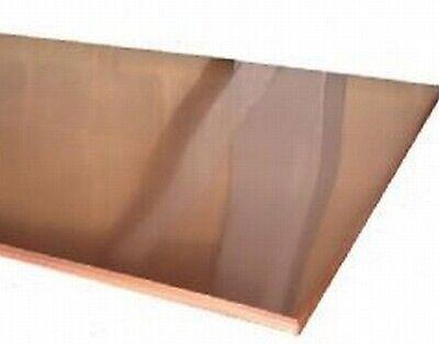 "24ga 20ga 26ga Select Thickness - 18ga 22ga Copper Strip 1/""x108/"""