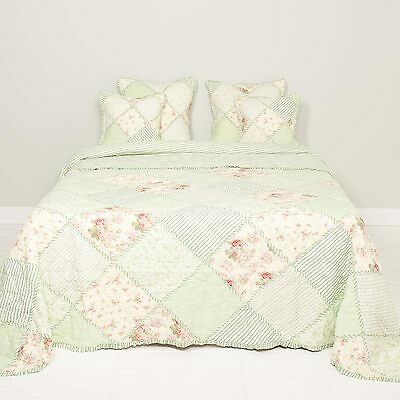 Clayre & Eef Bedspread Bedspread roses180x260 Quilt Shabby Chic NEW
