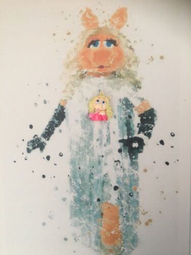 Miss Piggy Needle Minder For Cross Stitch//Embroidery//tapestry