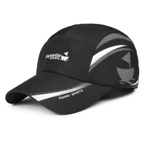 Summer Sun Visor Breathable Hat Waterproof Aquatic Sports Snap back Peak Cap