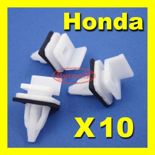Honda Accord Civic Crv lado Falda alféizar de montaje superior Trim Clips Exterior