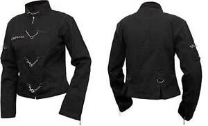 gothique spirale noir dames manteau uni noir directe de Manteau oriental 7ZF1wqw6v