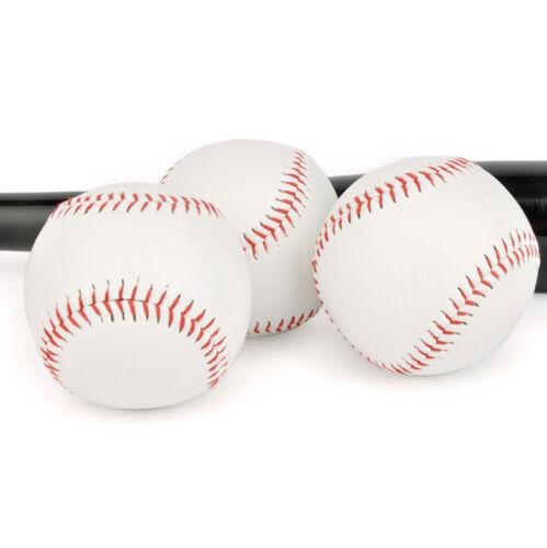 "9/"" Soft Leather Sport Practice /& Trainning Base Ball BaseBall Softball New UK"